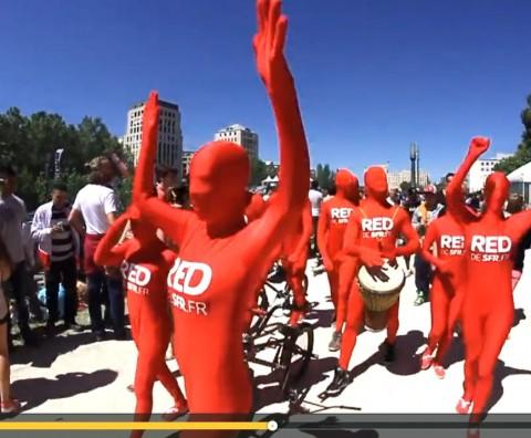 Parade Red SFR Combinaisons Mavip