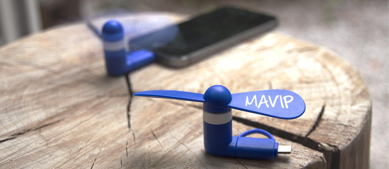 Ventilateur pour smartphones by Mavip
