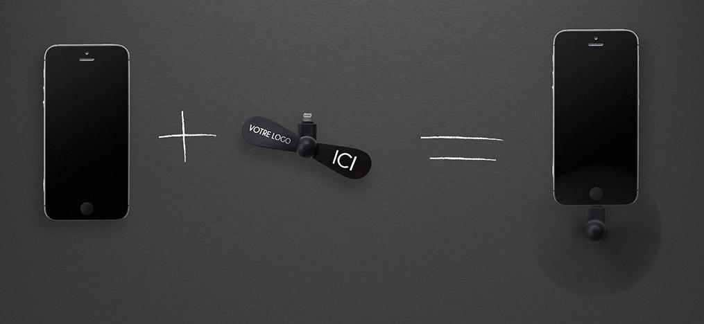 ventilateur de poche by MAVIP - objet publicitaire