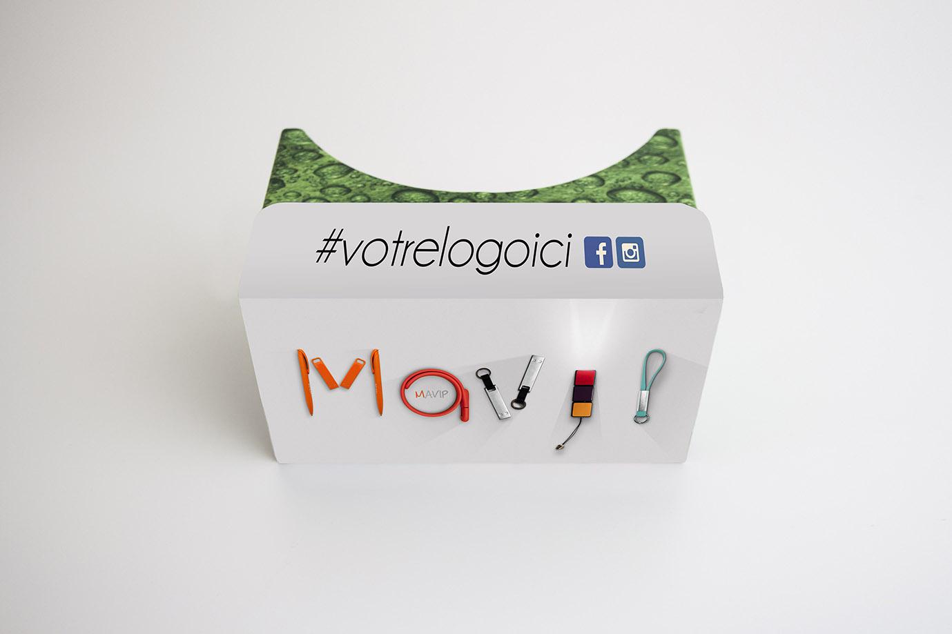 lunettes de réalité virtuelle by mavip - objets publicitaires