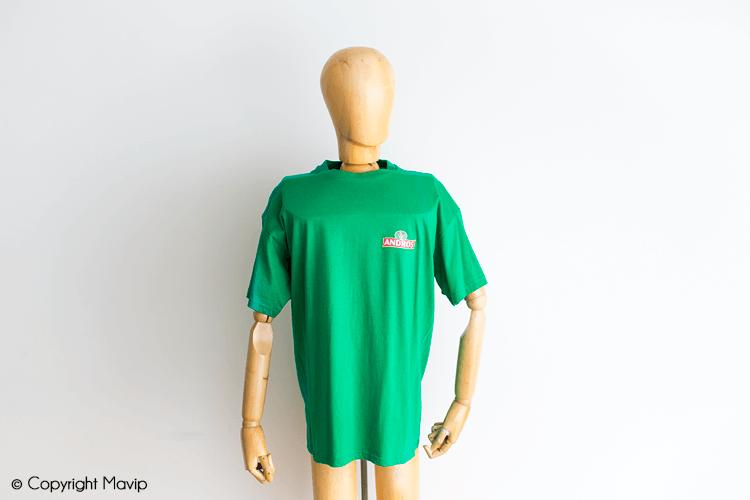 T-shirts publicitaires réalisés par Mavip