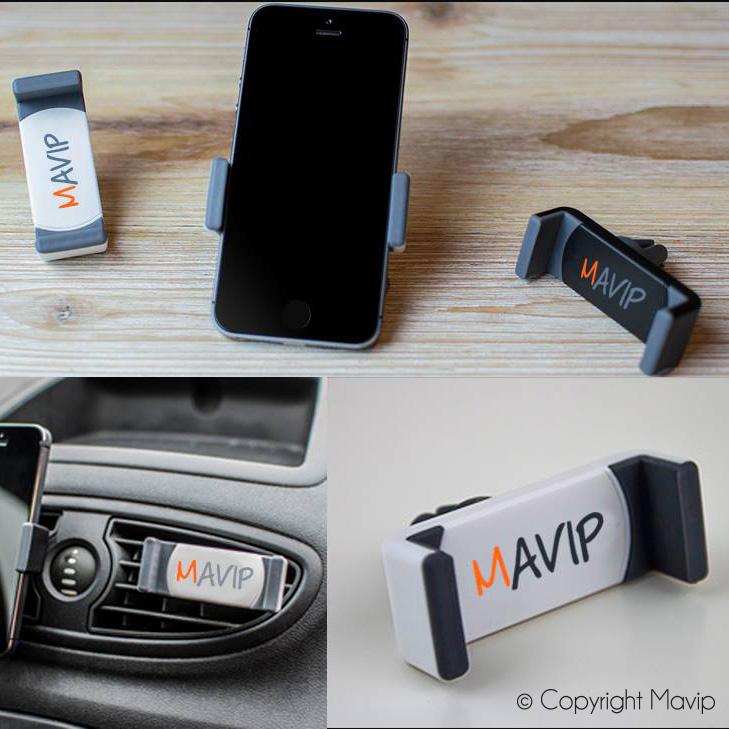 supports smartphones personnalisés et personnalisables avec logo ou visuels de communication