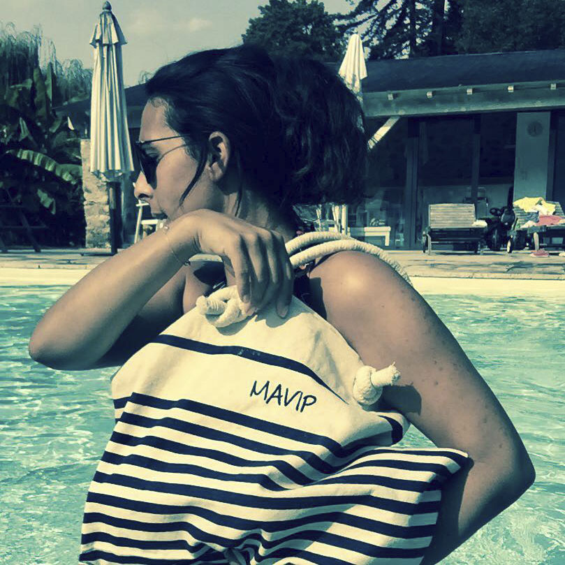 Sac de plage marin logoté de la collection de goodies by Mavip