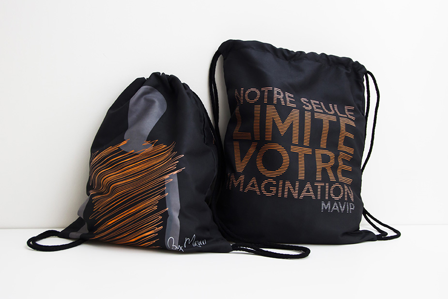 Sac de sport impression quadri totale de la collection de goodies by Mavip