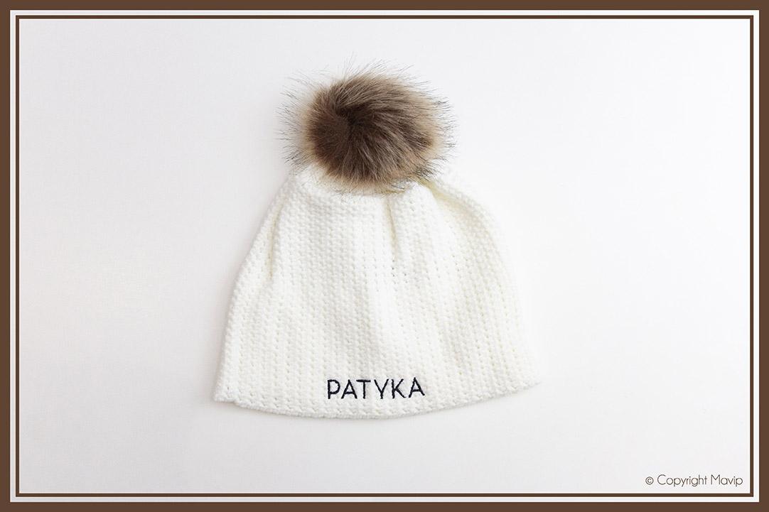 Bonnets réalisés pour Patyka par Mavip
