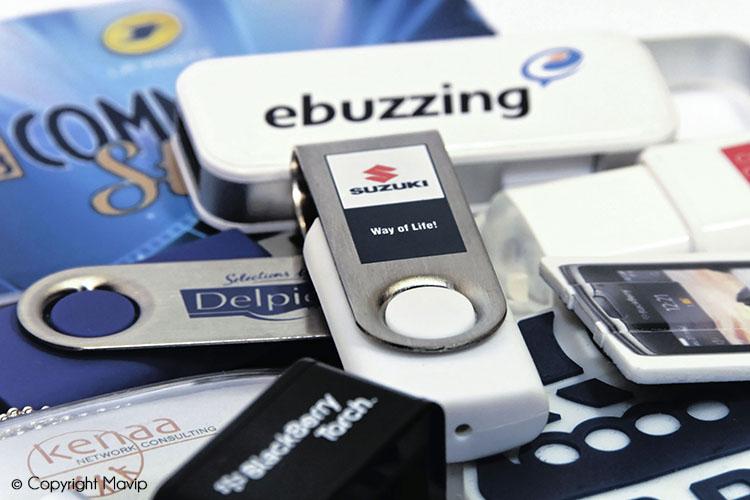 les objets publicitaires de Mavip dans la catégorie High-tech - clés USB et Hubs