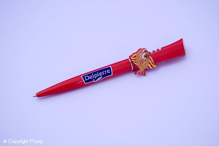 Les stylos publicitaires réalisés par Mavip