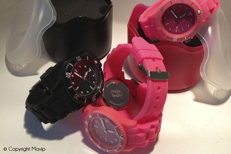 les objets publicitaires de Mavip dans la catégorie Accessoires - montres