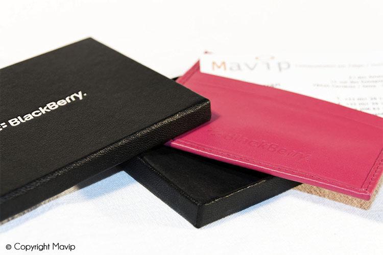 les objets publicitaires de Mavip dans la catégorie Accessoires - petite maroquinerie