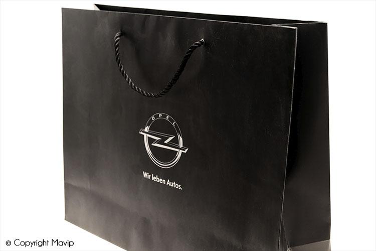 les objets publicitaires de Mavip dans la catégorie Accessoires - sacs platiques et papiers