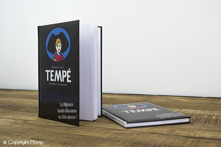 Les carnets publicitaires réalisés pour Morer Tempé par Mavip