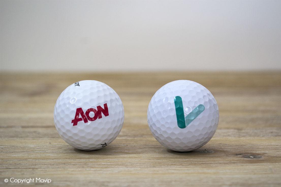 les balles de golf réalisées par mavip
