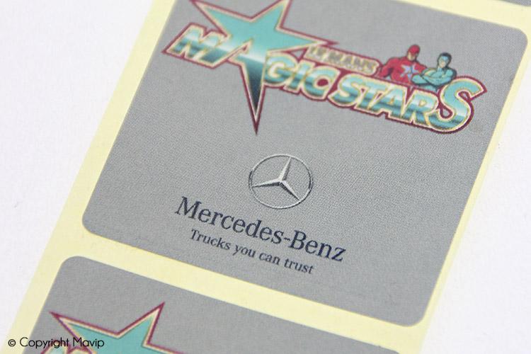 Les stickers Mercedes réalisés par Mavip