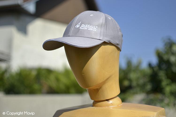 Les casquettes publicitaires réalisées Mavip et présentées par Goodie Boy