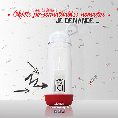 Dans la famille des objets publicitaires réalisables par Mavip, agence de communication #votrelogoici