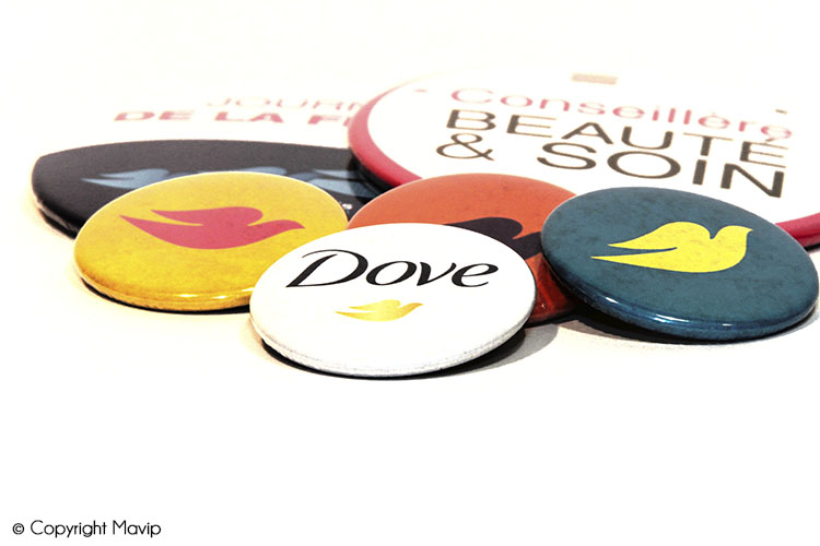 les objets publicitaires de Mavip dans la catégorie évènementiel badges