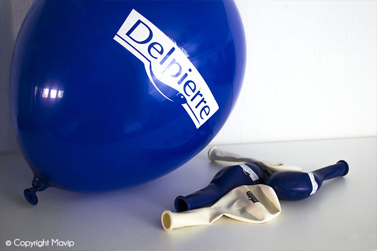 Les ballons publicitaires réalisés par Mavip