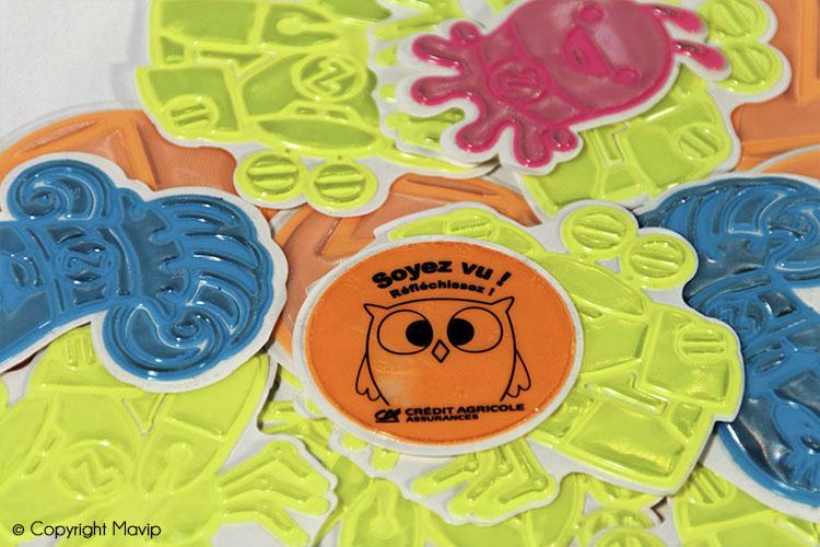 les objets publicitaires de Mavip dans la catégorie évènementiel stickers