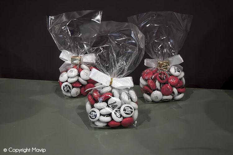 Bonbons publicitaires réalisés par Mavip