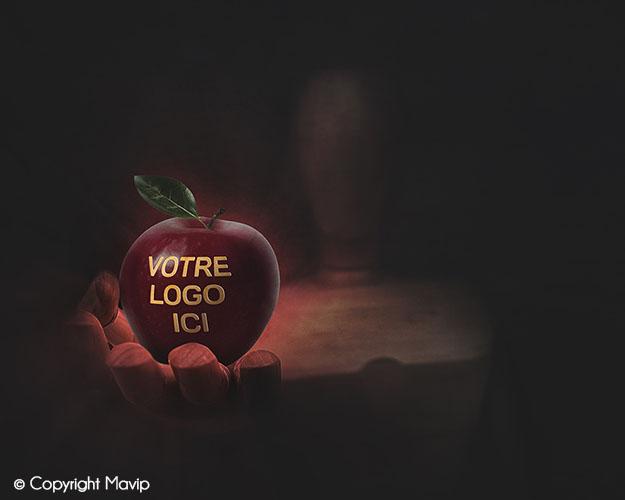 Goodie Boy et ses objets publicitaires pomme pub