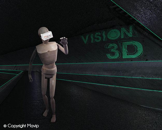 Goodie Boy et ses objets publicitaires lunettes de réalité virtuelle