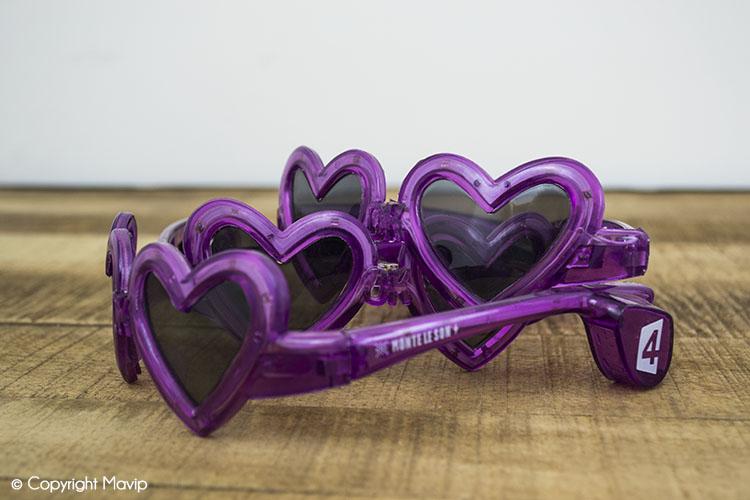 les lunettes publicitaires réalisées par Mavip