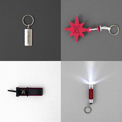 Boîte à idées les goodies réalisables par Mavip, agence de communication par l'objet #votrelogoici votre logo ici