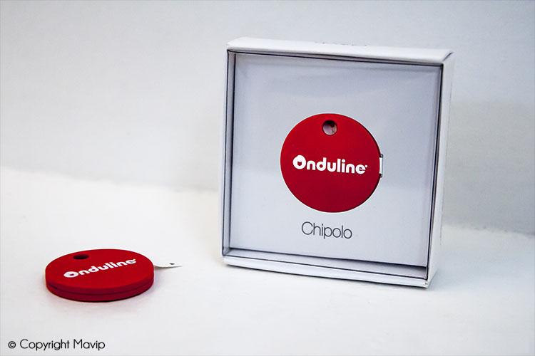 Chipolo traceur de téléphone et traceur de clés personnalisable avec logo réalisés par Mavip