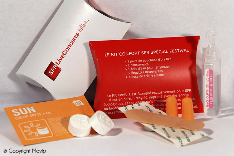 les objets publicitaires de Mavip dans la catégorie santé beautée et soins
