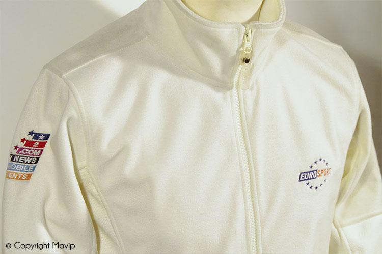 les objets publicitaires de Mavip dans la catégorie textile polaires
