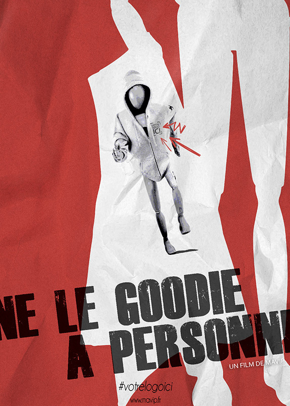 Goodie Boy fait son cinéma avec des objets publicitaire film
