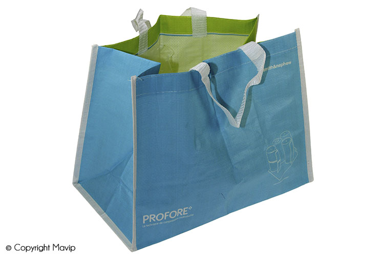 Les sacs papier et plastique publicitaires réalisés par Mavip