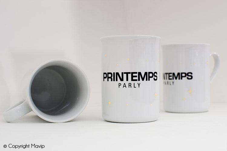 Mugs publicitaires réalisés par Mavip
