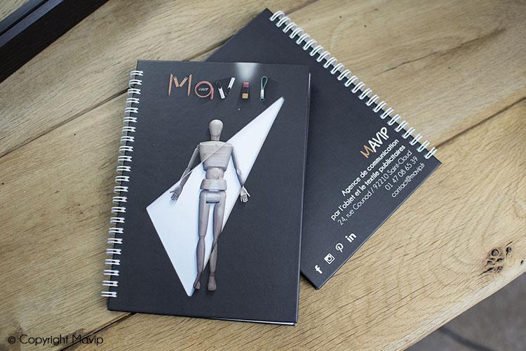 Carnets publicitaires réalisés pour et par Mavip