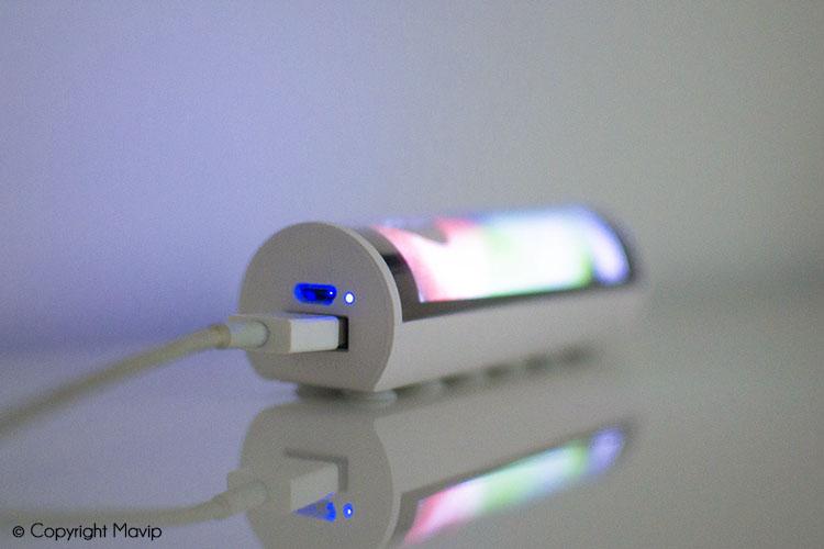Chargeurs de smartphones publicitaires réalisés par Mavip