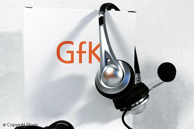 Casques audio publicitaires réalisés par Mavip