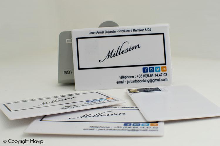 Clés USB publicitaires réalisées par Mavip