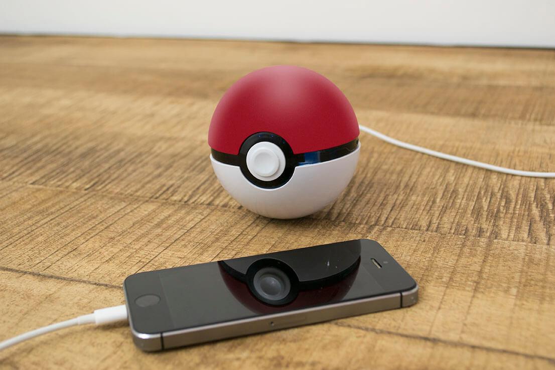 chargeur publicitaire pokemon pokeball