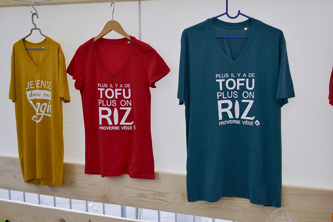 T-shirt AVF textile publicitaire