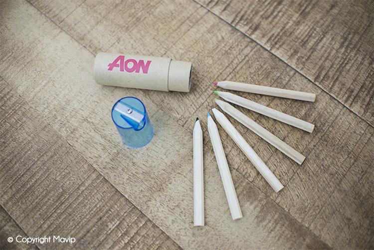 Les crayons publicitaires réalisés par Mavip