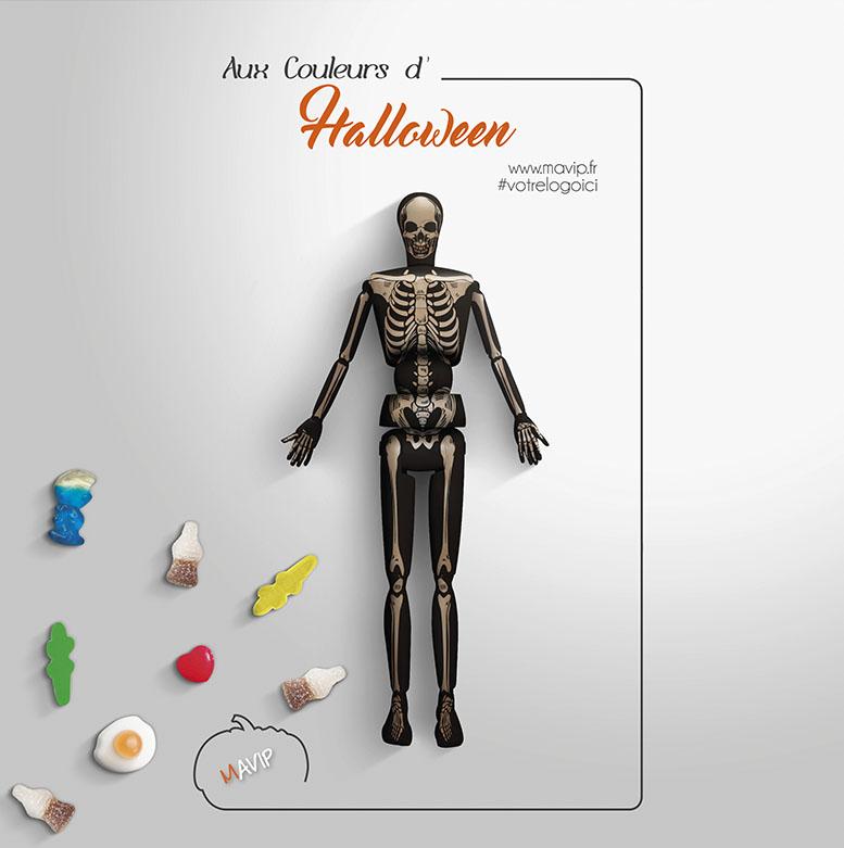 Les objets publicitaires aux couleurs d'halloween