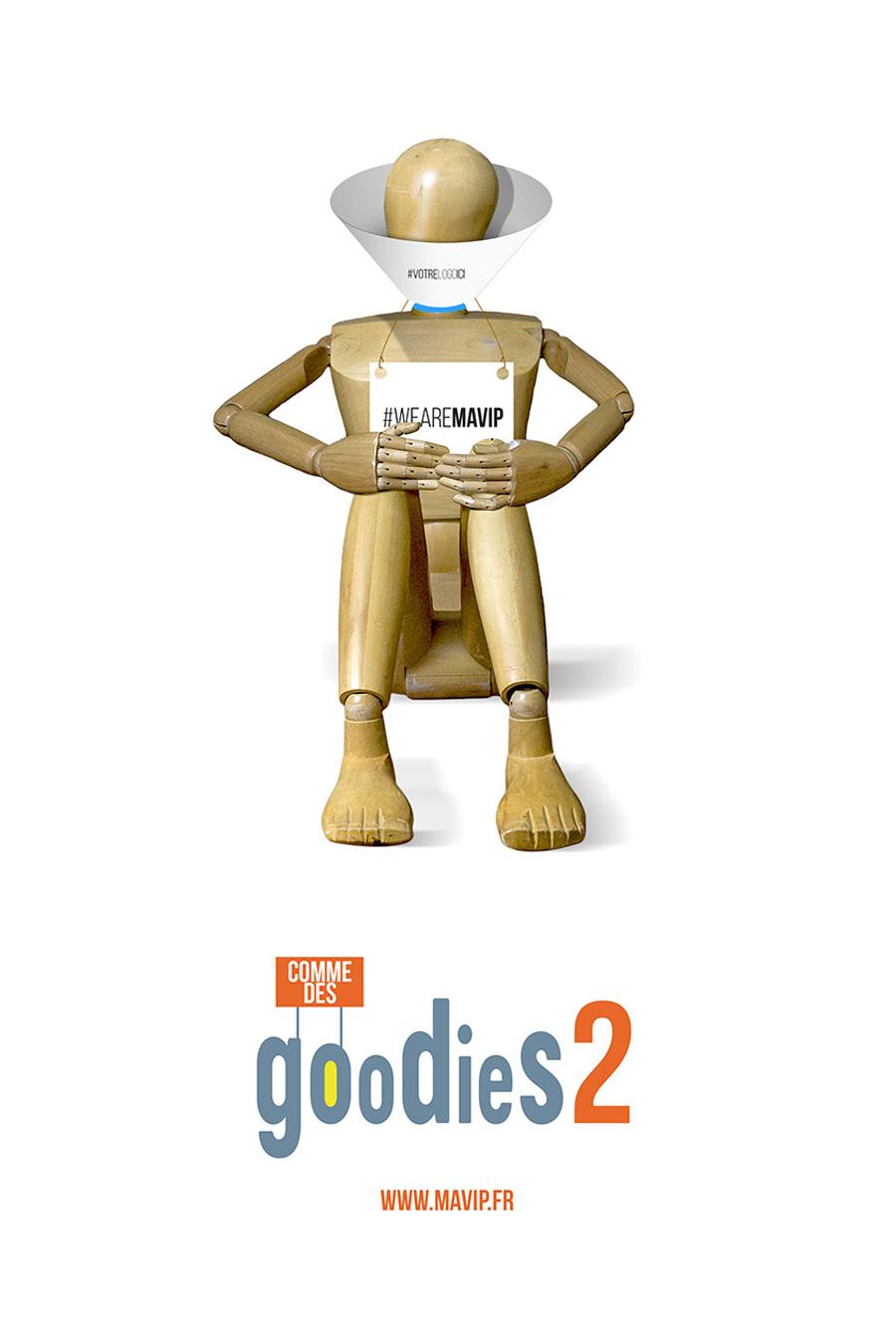 Goodie Boy fait son cinéma avec ses objets médias personnalisés by Mavip