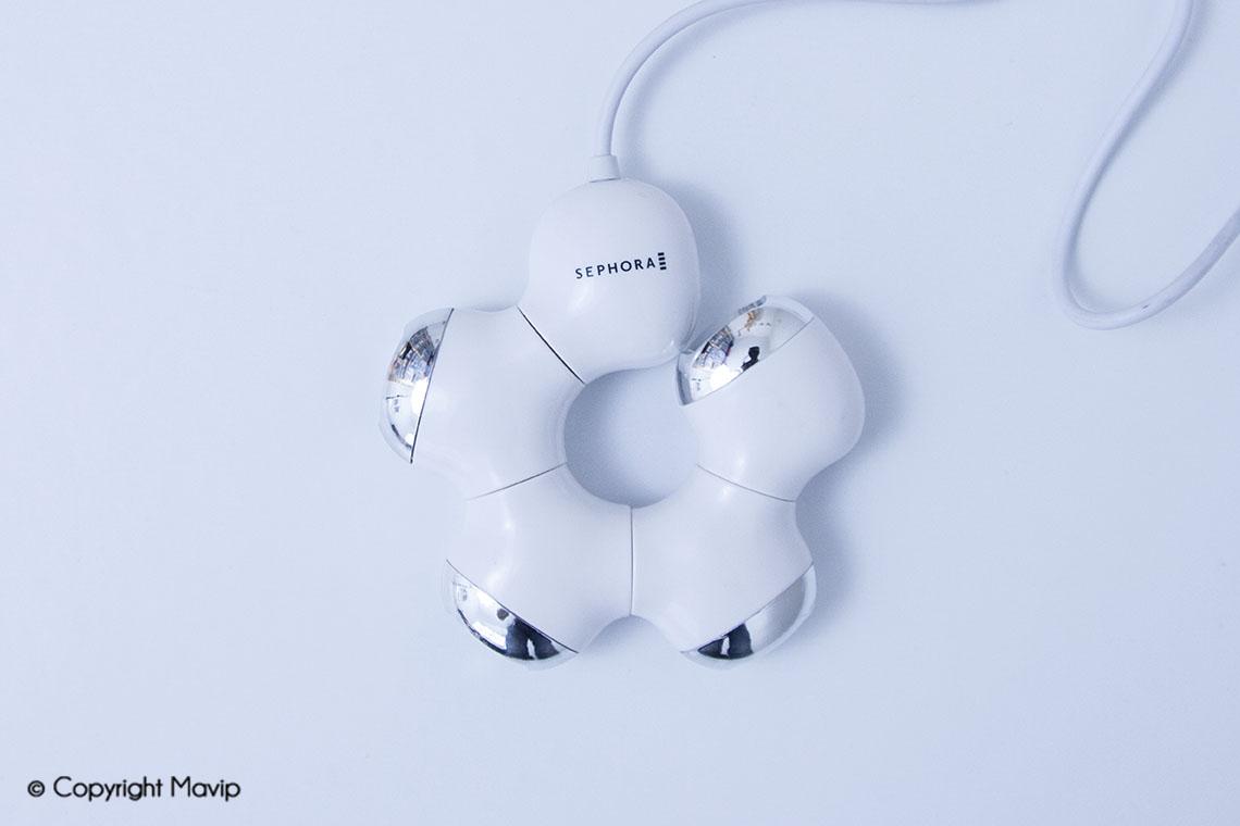 Hubs personnalisables avec logo réalisés pour Sephora par Mavip