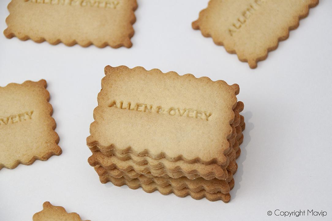 Biscuits personnalisés par Mavip
