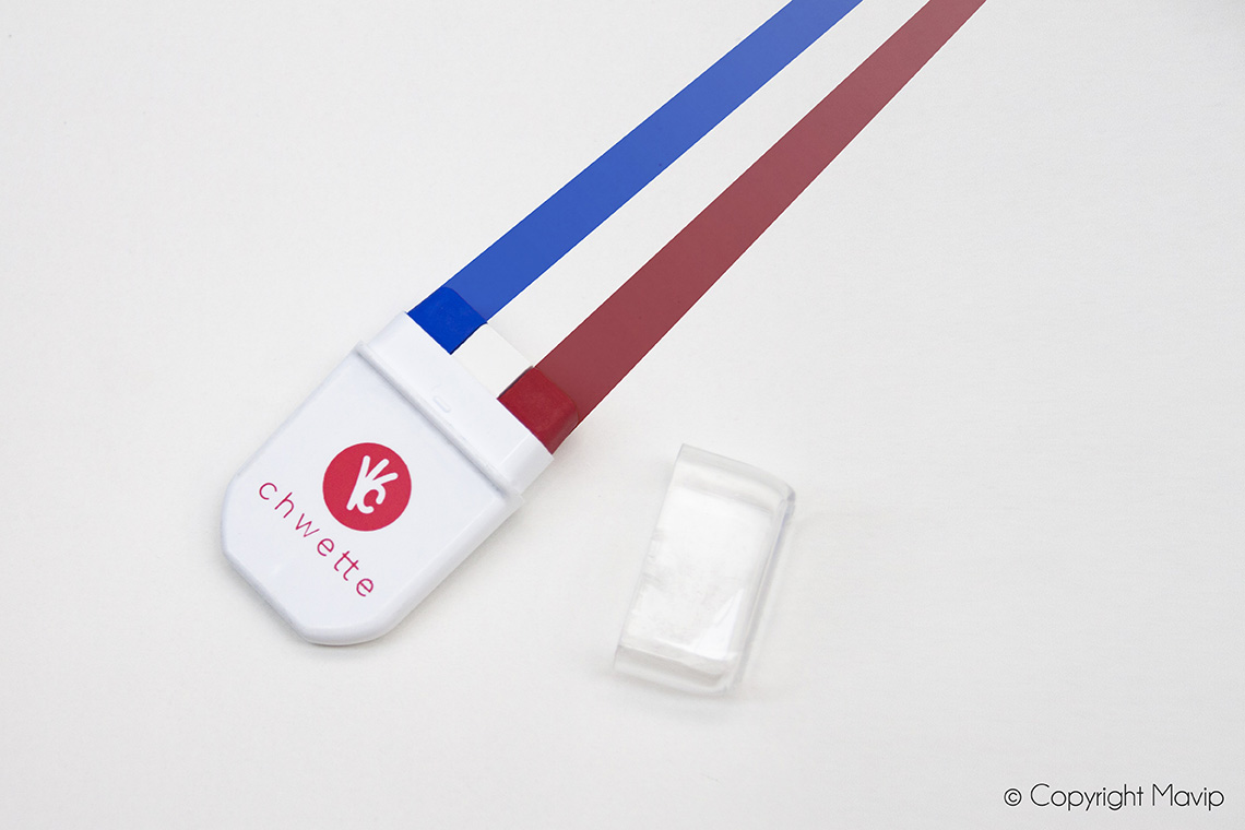 Peinture drapeau bleu blanc rouge objet média supporter foot football by mavip