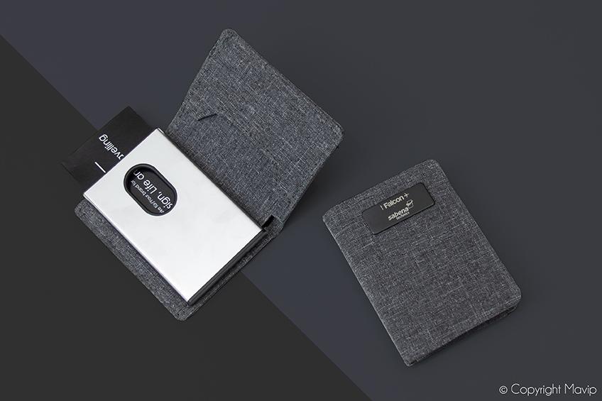 Portes-cartes réalisés par Mavip