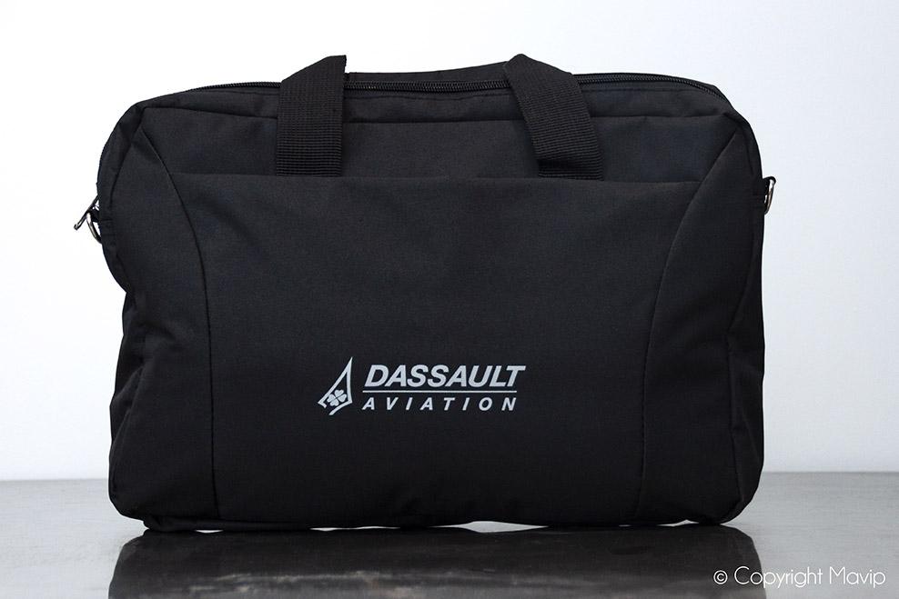 Saccoche personnalisable avec logo Dassault par Mavip
