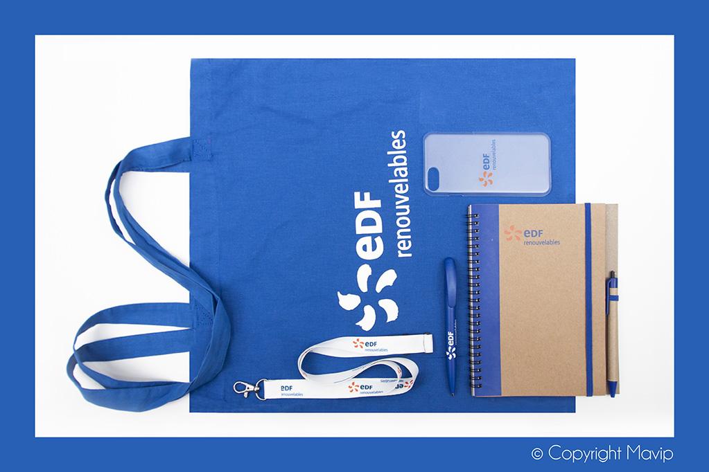 kits objets médias personnalisables avec logo d'entreprise by Mavip