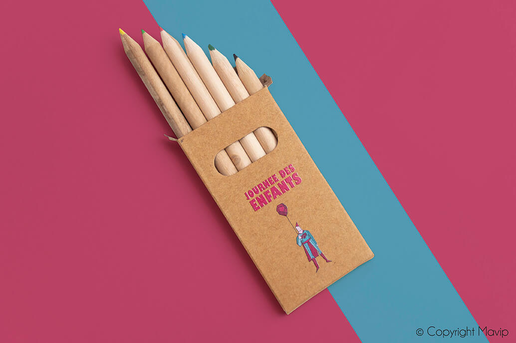 Crayons réalisés pour Mazars par Mavip