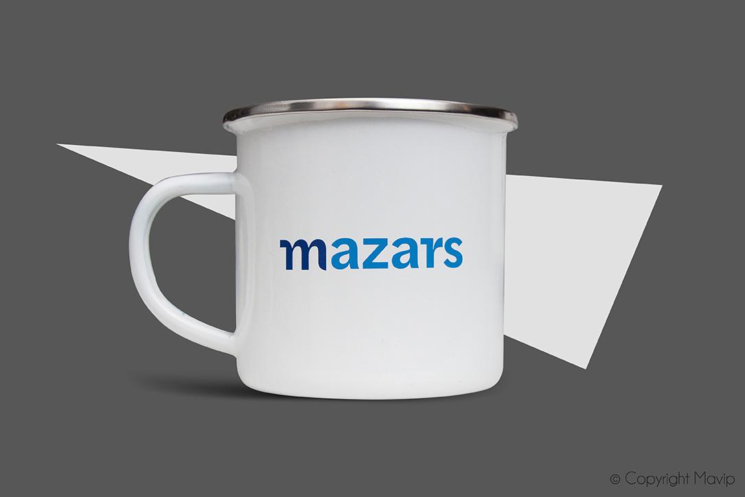 Mugs personnalisés pour Mazars par Mavip